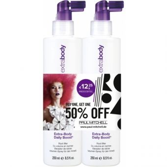 Paul Mitchell Duo - Extra-Body Daily Boost 2 x 250ml