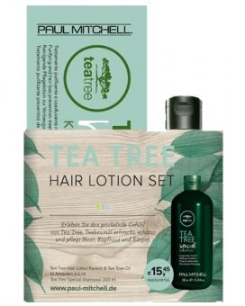 Paul Mitchell - Duo Set TEA TREE Hair Lotion + Tea Tree Special Shampoo