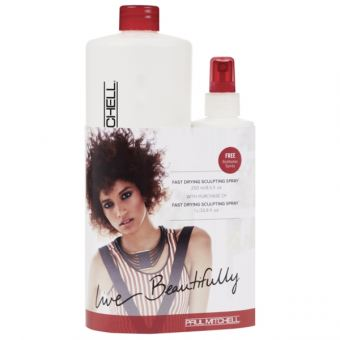Paul Mitchell - On The Horizon Refill Plus Fast Drying Scultping Spray 1000ml + 250ml GRATIS dazu!
