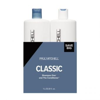 Paul Mitchell - Save on Duo Liter Shampoo One + The Conditioner