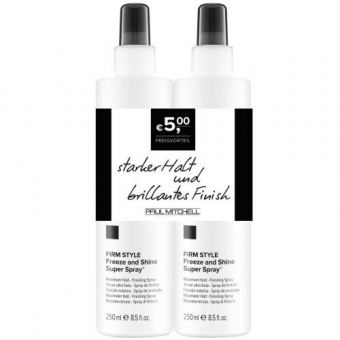 Paul Mitchell - Style Duo Freeze and Shine Super Spray 2x250ml
