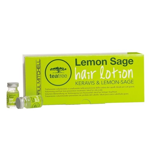 Paul Mitchell - TEA TREE hair lotion LEMON-SAGE - 12x6ml Amp.