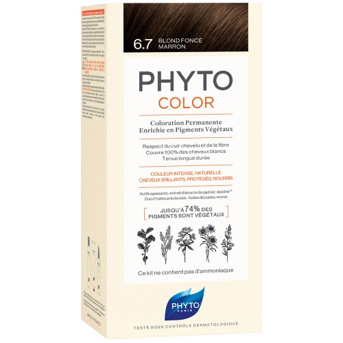 Phyto - PHYTOCOLOR 6.7 - Dunkelblond Chocolat